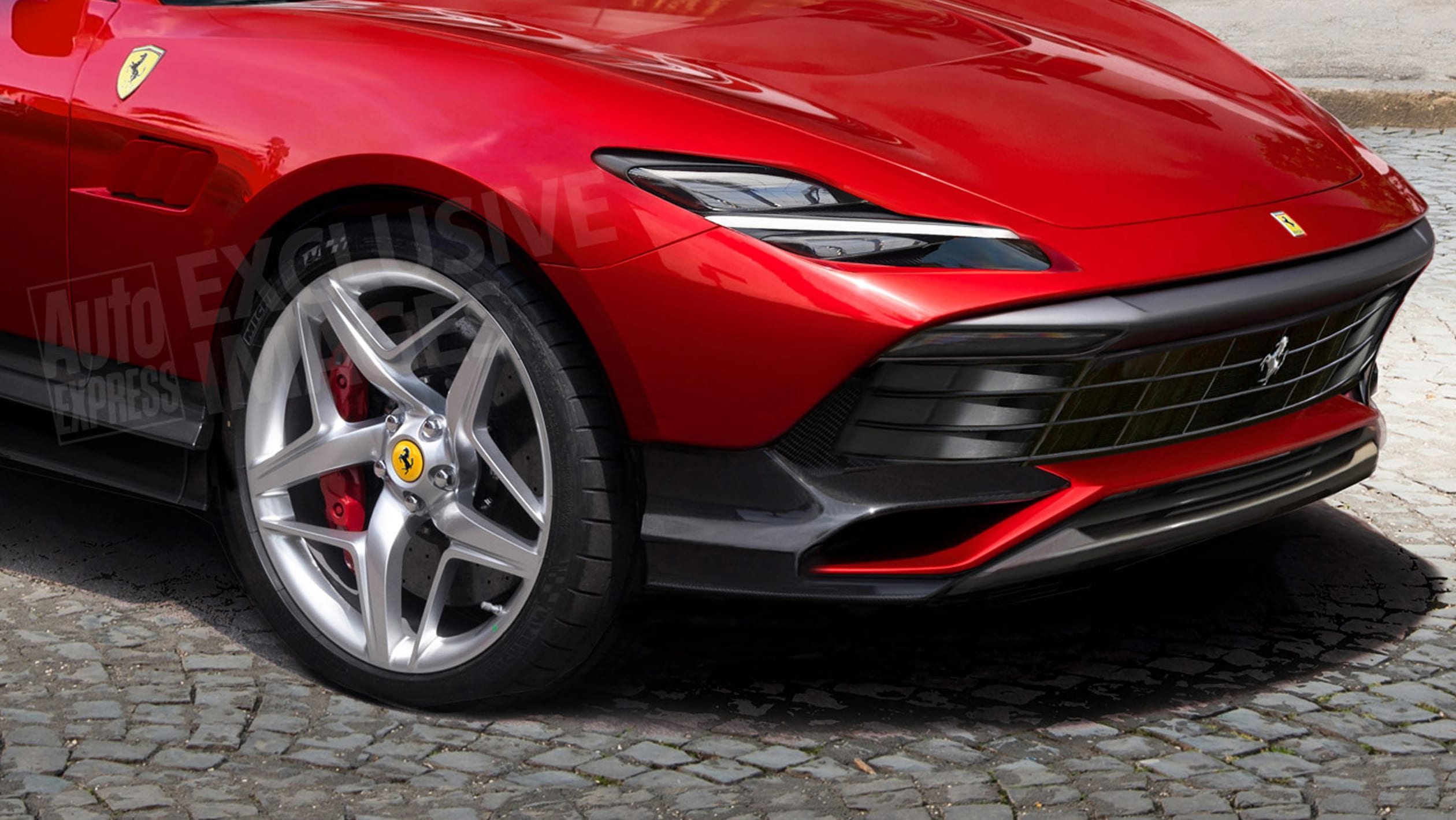 Ferrari Purosangue Suv Ferrari S First Fuv Bleeding Edge Digital